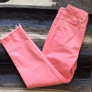 NWT MOTO straight Crops Size 26